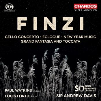 Cover Finzi: Cello Concerto, Eclogue, New Year Music and Grand Fantasia & Toccata