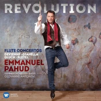 Cover Revolution - Flute Concertos by Devienne, Gianella, Gluck & Pleyel