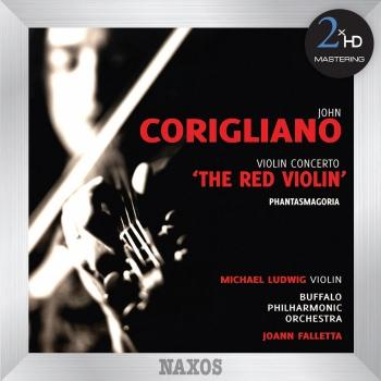 Cover Corigliano: Violin Concerto, The Red Violin - Phantasmagoria (Remaster 2015)