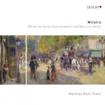 Cover Miroirs - Works by Karol Szymanowski and Maurice Ravel