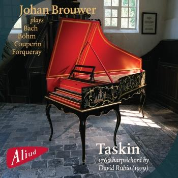 Cover Plays Bach, Böhm, Couperin, Forqueray (Taskin Harpsichord)