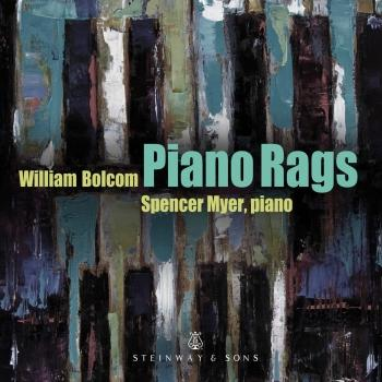 Cover William Bolcom: Piano Rags