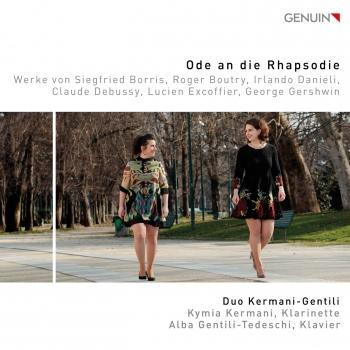 Cover Ode an die Rhapsodie
