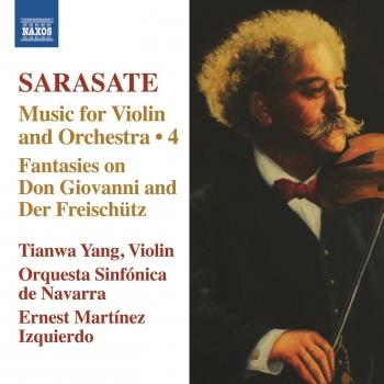 Cover Sarasate: Music for Violin and Orchestra, Vol. 4