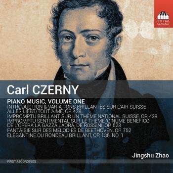 Cover Czerny: Piano Music, Vol. 1