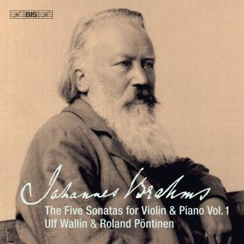 Cover Brahms: Works for Violin & Piano, Vol. 1