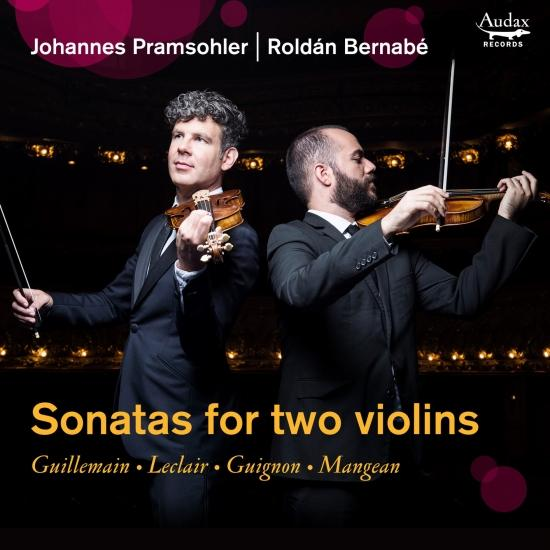 Cover Sonatas for two violins