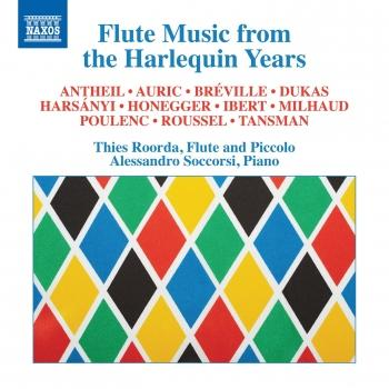 Cover Flute Music from the Harlequin Years