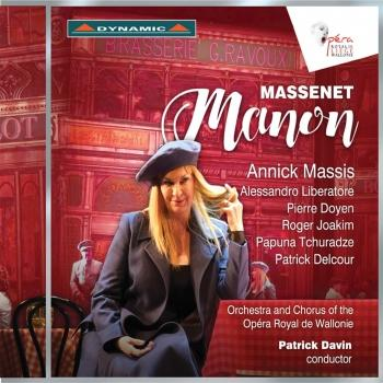 Cover Massenet: Manon