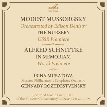 Cover Mussorgsky: The Nursery - Schnittke: In Memoriam