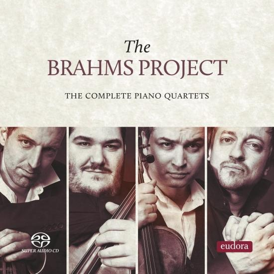 Cover The Brahms Project - The Complete Piano Quartets
