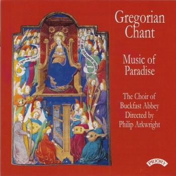 Cover Gregorian Chant: Music of Paradise