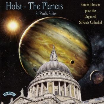 Cover Holst: The Planets & St. Paul's Suite (Arr. for Organ)