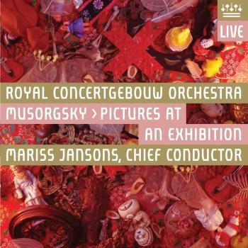 Cover Mussorgsky: Pictures at an Exhibition (Live)