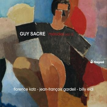 Cover Guy Sacre: Mélodies, Vol. 2