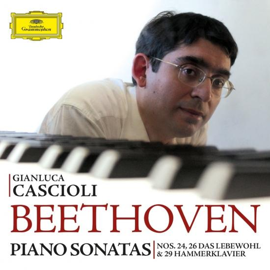 Cover Beethoven: Piano Sonatas Nos. 24, 26 & 29