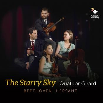 Cover Beethoven: Quatuor No. 2, Op. 59 - Hersant: Quatuor No. 4 ' The Starry Sky'