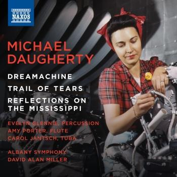 Cover Daugherty: Dreamachine, Trail of Tears & Reflections on the Mississippi