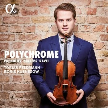 Cover Ravel, Prokofiev & Strauss: Polychrome