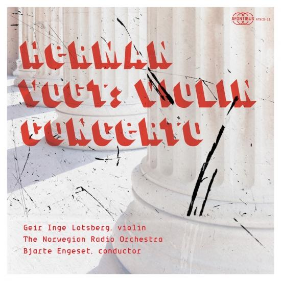 Cover Herman Vogt: Violin Concerto