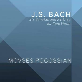 Cover Bach: 6 Sonatas & Partitas for Solo Violin, BWV 1001-1006