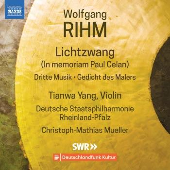 Cover Wolfgang Rihm: Music for Violin & Orchestra, Vol. 1