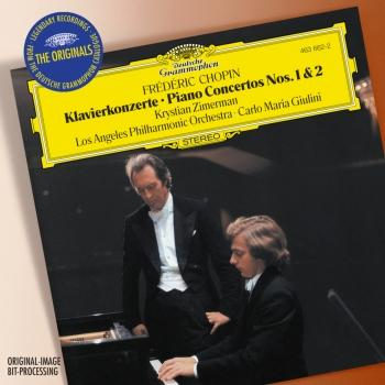 Cover CHOPIN: Piano Concertos Nos. 1 & 2