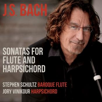 Cover J.S. Bach: Sonatas for Flute & Harpsichord