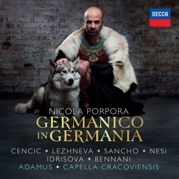 Cover Porpora: Germanico in Germania