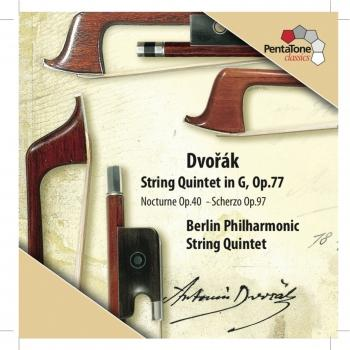 Cover Dvorak: String Quintet in G major, Op. 77