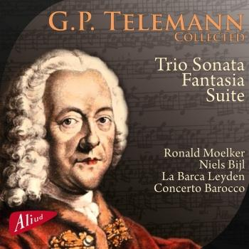 Cover G.P. Telemann - Collected