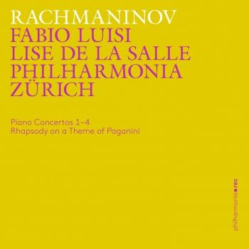 Cover Rachmaninoff: Piano Concertos 1-4, Rhapsody on a Theme of Paganini (Live)