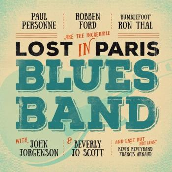 Cover Lost in Paris Blues Band