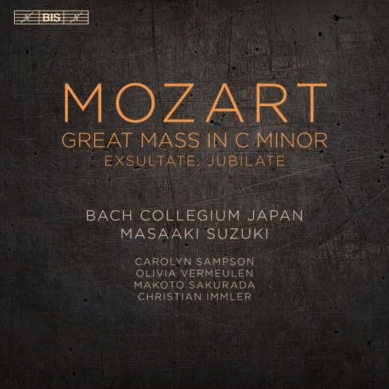 Cover Mozart: Great Mass in C Minor & Exsultate, Jubilate
