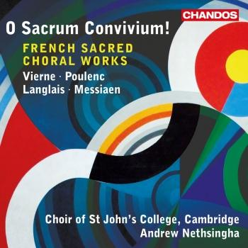 Cover Vierne, Poulenc, Langlais & Messiaen: French Sacred Choral Works