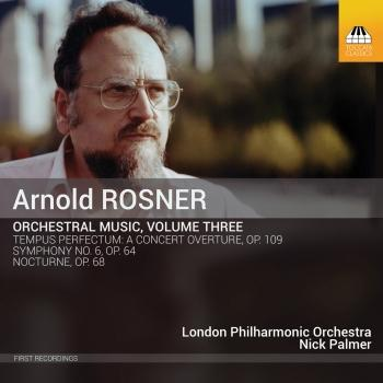 Cover Rosner: Orchestral Music, Vol. 3