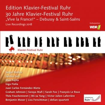 Cover Vive la France! Debussy & Saint-Saint-Saëns (Edition Ruhr Piano Festival, Vol. 37)