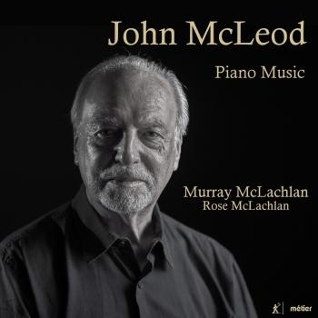 Cover J. McLeod: Piano Music