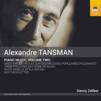 Cover Tansman: Piano Music, Vol. 2