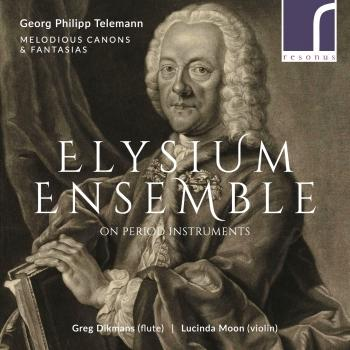 Cover Georg Philipp Telemann: Melodious Canons & Fantasias