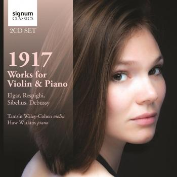Cover 1917 - Works for Violin & Piano