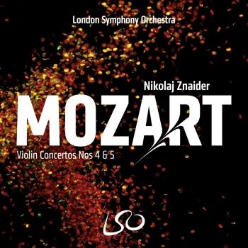 Cover Mozart: Violin Concertos Nos. 4 and 5