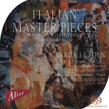 Cover Italian Master Pieces