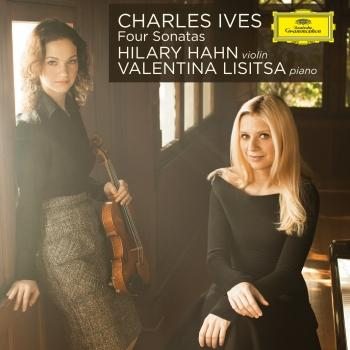 Cover Ives: Four Violin Sonatas