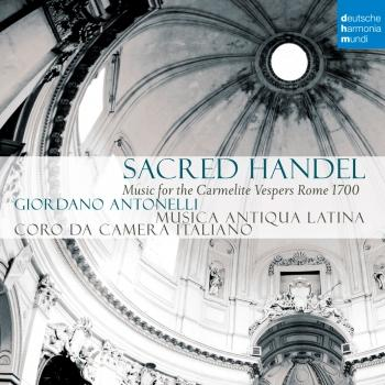 Cover Sacred Handel - Music for the Carmelite Vespers
