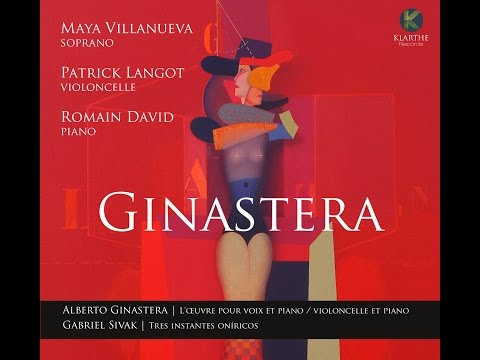 Video Maya Villanueva, Patrick Langot and Romain David - Ginastera