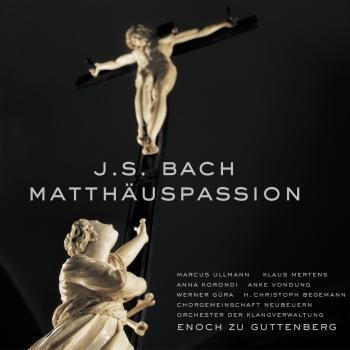 Cover Bach: Matthäus-Passion