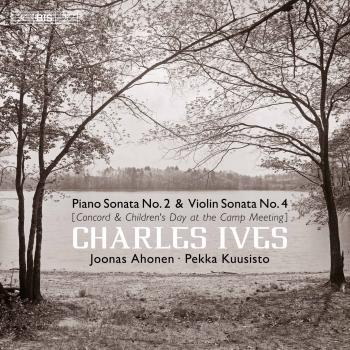 Cover Ives: Piano Sonata No. 2 & Violin Sonata No. 4