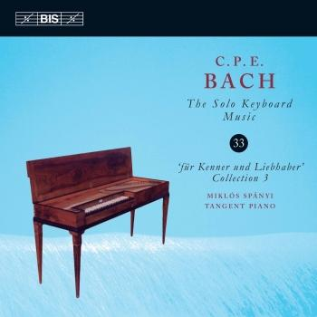 Cover C.P.E. Bach: The Solo Keyboard Music, Vol. 33