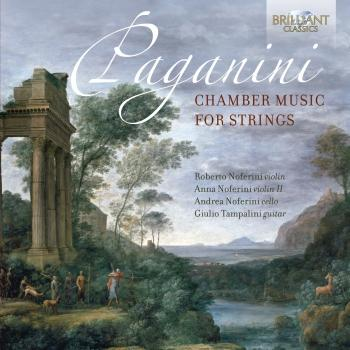 Cover Paganini: Chamber Music for Strings